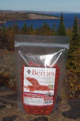 Goji Berries, USDA Certified, Sun-dried, Whole 1 lb