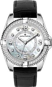 Alpha Saphir Damen-Uhren Quarz  Analog 365A