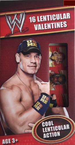 Wwe 16 Lenticular Valentines front-64864