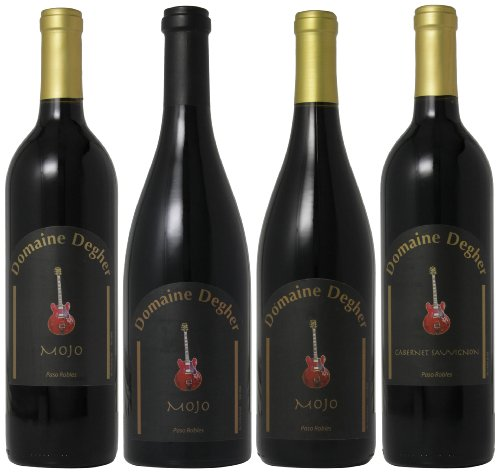 Domaine Degher Paso Robles Variety Red Mixed Pack, 4 X 750 Ml