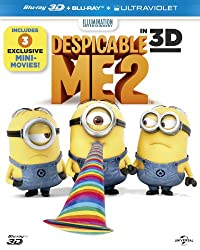 Despicable Me 2 [Blu-ray 3D + Blu-ray] [2013]
