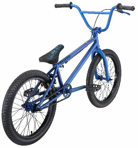 Eastern Bikes Axis BMX Bike (Matte Royal Blue with Black, 20-Inch)