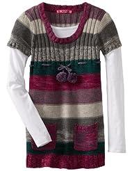 Energie Girls Scoop Sweater Berry