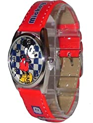 New Mickey Mouse Red Watch Bonus Keychain