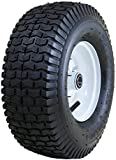 "Marathon Industries 20336 Marathon 13x5.00-6""-Inch Pneumatic Tire with Turf Tread - 3"" Centered Hub - 3/4"" Precision Ball Bearings"
