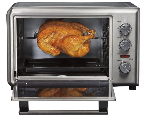 Countertop Convection Oven For Cookies : Hamilton Beach 31103A Countertop Oven with Convection and Rotisserie ...