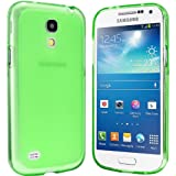 Samsung Galaxy S4 Mini Hülle - Schutzhülle Silikonhülle Case Cover Tasche für Samsung S4 Mini (Grün)