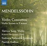 Mendelssohn : Concertos pour violon -...