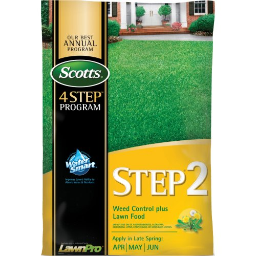 scotts-34160-lawnpro-step-2-weed-control-plus-lawn-food-28-0-3-4392-pound