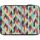 Snoogg Aztec Pattern Digital Ray 10 To 10.6 Inch Laptop Netbook Notebook Slipcase Sleeve