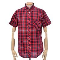 ベンシャーマン Ben Sherman 半袖タータンチェックシャツ[メンズ] 全2色 MC1122MS