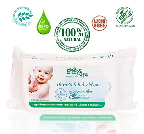 Babyspa Organic Ultra-soft Baby Wipes