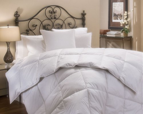 King Size White Down Alternative Comforter -