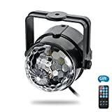 Party Lights , VIIVRIA Colorful Disco Ball Light with Bluetooth Remote for Birthday Xmas Wedding Home Party Celebrations (Stage Light + Remote)