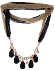 Amaira Jewels Gold Plated Strand Necklace For Women - B0133GA6G0