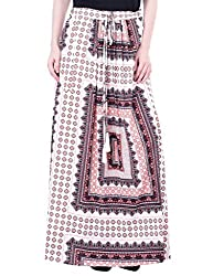 Oxolloxo Women maxi printed skirt