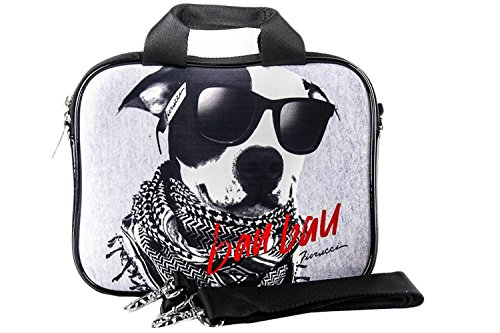 borsa-porta-mini-pc-ipad-fiorucci-cane-dog-grey-with-shoulder-strap-h39