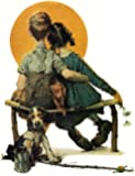 Norman Rockwell First Love 1926 Art Print - 8 in x 10 in - Unmatted, Unframed