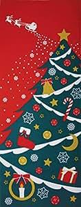 四季彩布 てぬぐい 「クリスマス」