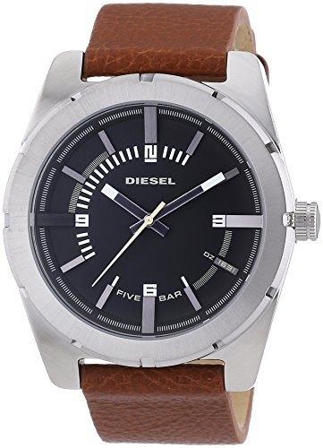 Diesel End-of-Season Analog Black Dial Mens Watch - DZ1631