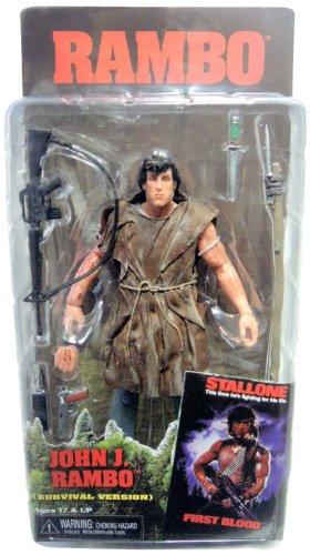 Neca Rambo First Blood Series 2 Action Figure Survival Rambo