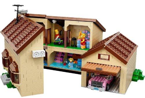 Imagen de LEGO Exclusive la casa Simpson Set (71006)