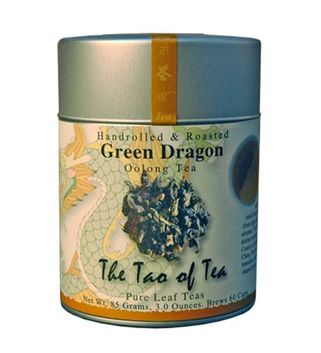 The Tao of Tea, Green Dragon Oolong Tea, Loose Leaf, 3.5-Ounce Tins (Pack of 3)