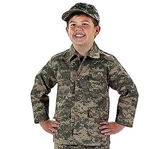 66210 Kids Camouflage Shirts Digital Camo XLRG