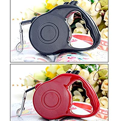 ZeroShop(TM)Retractable Dog Leash - Ergonomic Design in Comfort and Control Running - Blue Retractable Belt Dog Leash, Convenient Helper to You