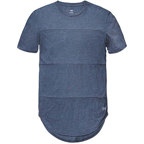 Globe - Maglietta sportiva - Maniche corte  -  uomo cosmic blue marle XL