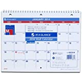 AT-A-GLANCE 2014 Monthly Desk, Wall Calendar, 11 x 8.5 Inch Page Size (PM170-28)