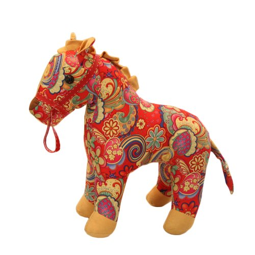 38 X 43Cm Stuffed Animals Vivid Pony Toys Home Decorations Unique Gifts front-841451