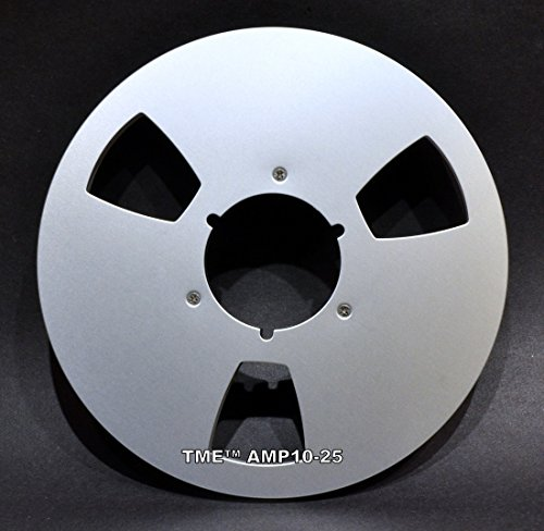 "ATR AMPEX Quantegy Style 1/4"" X 10.5"" Metal Takeup Reel for Open Reel Tape by TME"