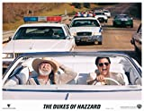 Dukes of Hazzard 11x14 lobby card Willie Nelson in convertable car