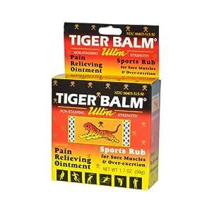 Tiger Balm Ultra Tiger Balm 1.7 Oz ( Multi-Pack)