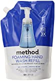 Method Foaming Hand Wash Refill 28oz, Sea Minerals,Pack of 6