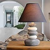 Uncle Sam LI- Amerikanische kreative keramische Tischlampe nette warme Nachttischlampe