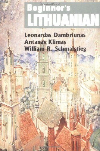 Beginner's Lithuanian (Beginner's (Foreign Language))