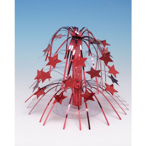 Red Star Mini Cascade Centerpiece - 1