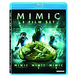 Mimic 3 Film Set (Mimic / Mimic 2 / Mimic 3) [Blu-ray]