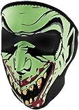 Zan Headgear Full Face Mask Glow in the Dark Vampire One Size Fits All OSFA WNFM067G