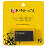 Rite Aid Renewal Super Single edge Blade with Used Blade Vault 10ct