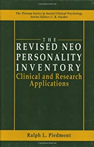 The Revised NEO Personality Inventory: Clinical and Research Applications (The Springer Series in Social Clinical Psychology)