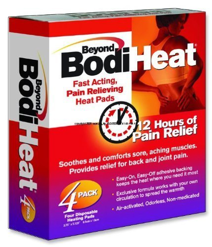 Beyond Bodi Heat 4/pack Beyond BodiHeatR Original by OKAMOTO USA INC by Bodi Heat