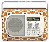 Pure Evoke Mio Orla Kiely Clementine DAB Digital & FM Portable Radio