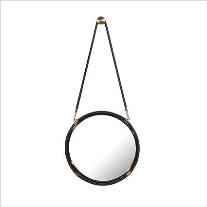 uus Specchio Per Il Bagno Di Pastorale Europeo Specchio Parete Appeso A Mano Specchio Per Il Viso Appeso Camera Da Letto Medicazione Specchio Del Bagno