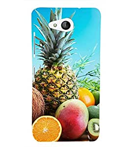 FRUITS Designer Back Case Cover for Microsoft Lumia 650
