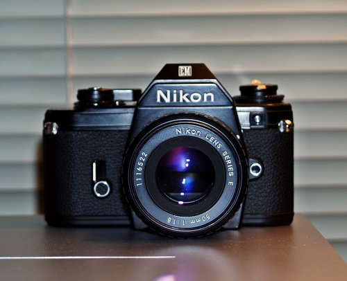 Nikon Em 35mm SLR Film Camera
