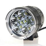 CM3 LED Scheinwerfer , 8000 lumen, 7x CREE XM-L T6 Fahrradlampe, inkl. 16000 mah Akku, CM3-LED-016 Picture