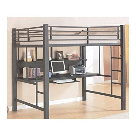 loft bed that can fit my gaming desktop it also needs to come with a